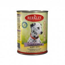 BERKLEY PUPPY Консервы с ягненком и рисом  для щенков 400г