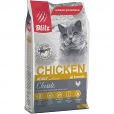 BLITZ Adult Cats Chicken с курицей для кошек