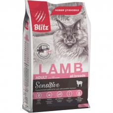 BLITZ Adult Cats Lamb с ягненком для кошек