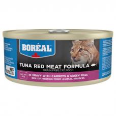 BOREAL с красным мясом тунца, морковью и зеленым горошком в соусе консервы для кошек