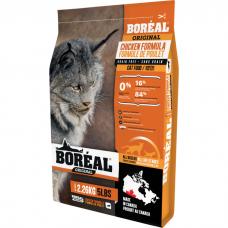 Сухой корм для кошек всех возрастов BOREAL ORIGINAL беззерновой с курицей и лососем 33/18
