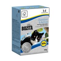 BOZITA кусочки с мясом лося в желе для активных кошек консервы 190г