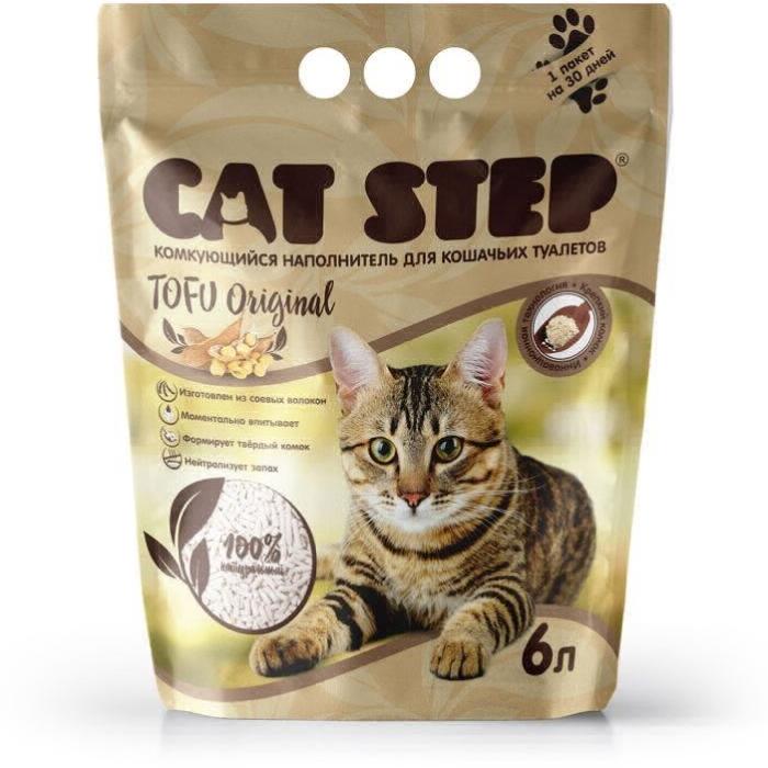 CAT STEP ТОFU наполнитель  для кошачьего туалета 2.7кг