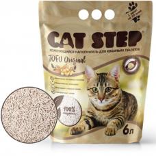 CAT STEP TOFU ORIGINAL растительный комкующийся наполнитель не ароматизированный