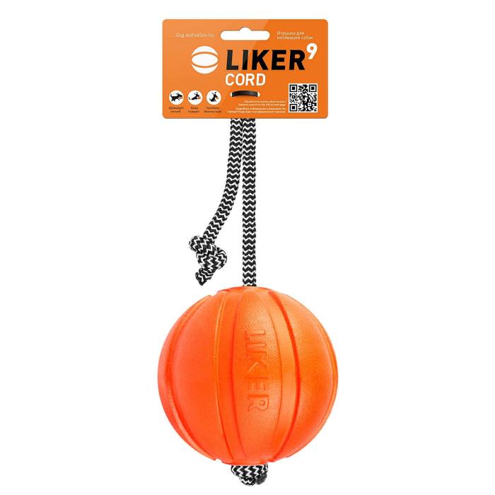 COLLAR ЛАЙКЕР КОРД игрушка для собак мяч на шнуре