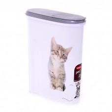CURVER PETLIFE КОШКА контейнер для корма на 4.5 л (1.5 кг корма)