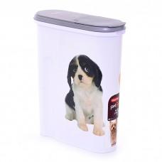 CURVER PETLIFE СОБАКА контейнер для корма на 4.5 л (1.5 кг корма)