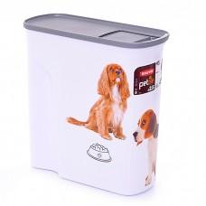CURVER PETLIFE СОБАЧЬЕ СЧАСТЬЕ контейнер для корма большой на 6 л (2.5 кг корма)