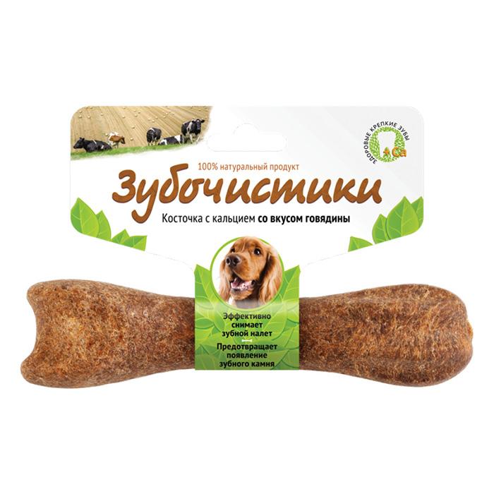 Фото - ЗУБОЧИСТИКИ с говядиной лакомство для собак средних пород 95г
