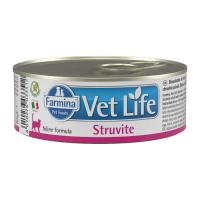 FARMINA VET LIFE STRUVITE для лечения МКБ у кошек консервы 80г
