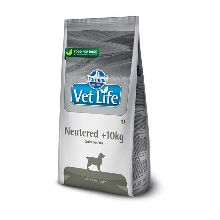 Фото - FARMINA VET LIFE DOG NEUTERED для стерилизованных собак весом свыше 10кг