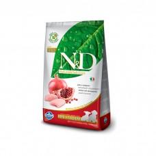 FARMINA N&D беззерновой с курицей и гранатом для щенков мелких и средних пород
