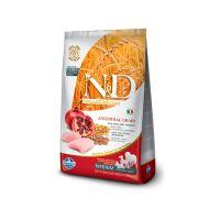 FARMINA N&D низкозерновой с курицей и гранатом для взрослых собак средних пород