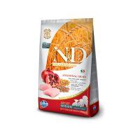 FARMINA N&D низкозерновой с курицей и гранатом для щенков средних пород