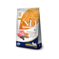 FARMINA N&D низкозерновой с ягненком и черникой для взрослых собак мелких пород