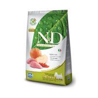 FARMINA N&D беззерновой с кабаном и яблоком для взрослых собак мелких пород