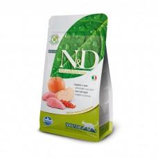 FARMINA N&D беззерновой с мясом дикого кабана и яблоком для взрослых кошек