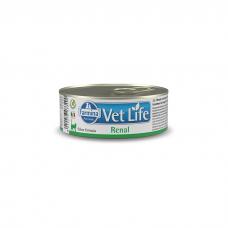 FARMINA VET LIFE CAT RENAL при заболеваниях почек консервы для кошек 85г