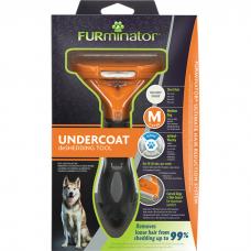 FURMINATOR M Инструмент для СРЕДНИХ собак с КОРОТКОЙ шерстью