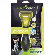 FURMINATOR XS Инструмент для ДЕКОРАТИВНЫХ собак с КОРОТКОЙ шерстью