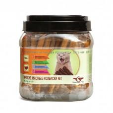 GREEN CUISINE ПОДВИЖНОСТЬ №1 Лосось Индейка мягкие мясные колбаски для кошек 6.5г
