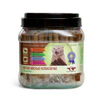 GREEN CUISINE ПОДВИЖНОСТЬ №2 Баранина Индейка мягкие мясные колбаски для стерилизованных кошек 6.5г