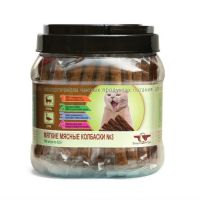 GREEN CUISINE ПОДВИЖНОСТЬ №3 Олень Утка мягкие мясные колбаски для кошек 6.5г