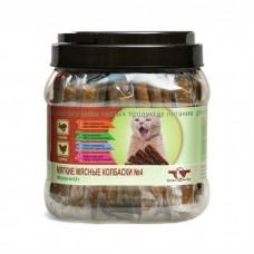 GREEN CUISINE ПОДВИЖНОСТЬ №4 Кролик Курица мягкие мясные колбаски для кошек 6.5г