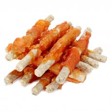 GREEN CUISINE СВЕЖЕСТЬ сушеные куриные твистеры лакомство для собак весовое