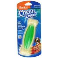 HARTZ CHEW`N CLEAN BONE косточка для очищения зубов со вкусом бекона средняя