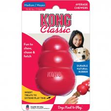 KONG CLASSIC M игрушка из натуральной резины для собак средняя 8*6см