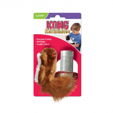 KONG REFILLABLES БЕЛКА игрушка с заменяемой кошачьей мятой