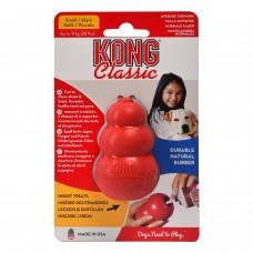 KONG CLASSIC игрушка многофунциональная из натуральной резины