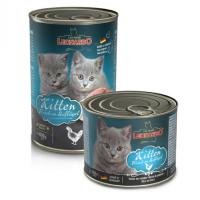 LEONARDO QUALITY SELECTION с птицей для котят консервы