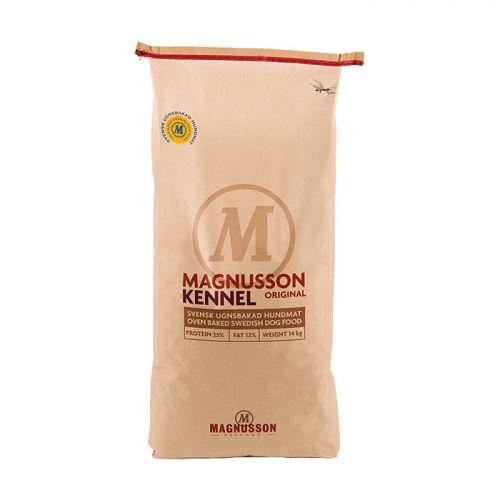 MAGNUSSON KENNEL с сушеным говяжьим мясом для взрослых собак с нормальной активностью