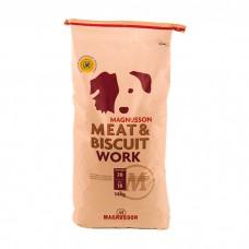 MAGNUSSON WORK со свежим говяжьим фаршем для собак с высоким потреблением энергии