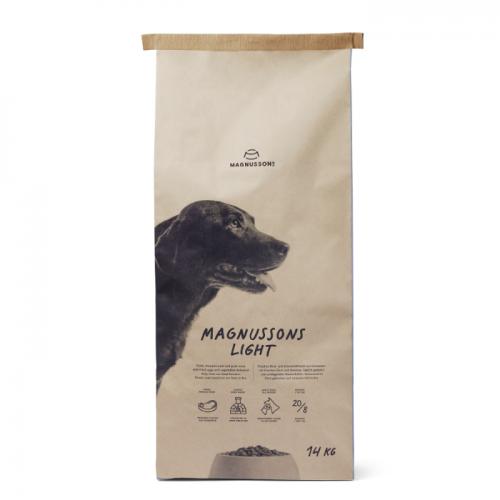 MAGNUSSON LIGHT со свежим говяжьим фаршем для собак, склонных к избыточному весу