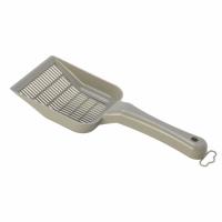 MODERNA SCOOPY SMALL SIFTING совок для мелкого наполнителя 10*28*4см серый