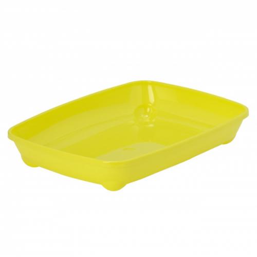 MODERNA ARIST O TRAY SMALL лоток для котят 37х28х6см лимонно-желтый
