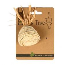 MON TERO ПИРАМИДКА игрушка из натуральных материалов с мятой для кошек