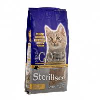 NERO GOLD CAT STERILIZED для профилактики мочекаменной болезни у стерилизованных кошек