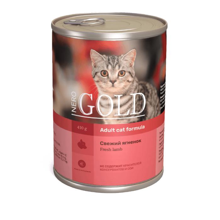 Фото - NERO GOLD CAT СВЕЖИЙ ЯГНЕНОК консервы для кошек