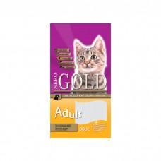 NERO GOLD ADULT с курицей, рыбой, куриной печенью для взрослых кошек
