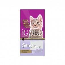 NERO GOLD SENSITIVE с ягненком для взрослых кошек при чувствительности пищеварения
