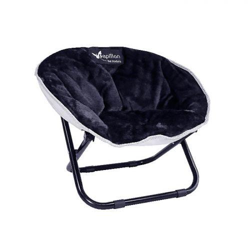 PAPILLON Релакс-стул с тёплой подушкой 50*50*40см, чёрный
