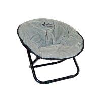 PAPILLON Релакс-стул с тёплой подушкой 50*50*40см, светло-серый