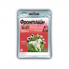 MERIAL ФРОНТЛАЙН ТРИ-АКТ XL против клещей и блох для собак 40-60 кг пипетка 6 мл