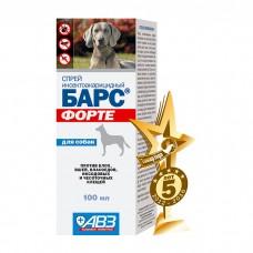БАРС ФОРТЕ спрей от блох и клещей для собак