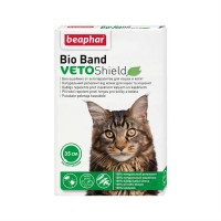 BEAPHAR 10664 VETO SHIELD BIO BAND ошейник Bio от блох клещей и комаров для кошек и котят