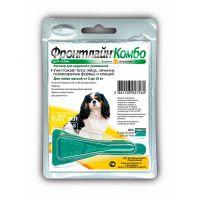 MERIAL ФРОНТЛАЙН КОМБО от блох и клещей капли для собак 2-10 кг